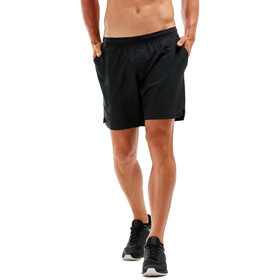 "2XU XCTRL Woven 7"" Shorts Men black/black"